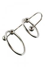 Glans and C-Ring Sperm Stopper  - A la fois bouchon d'ur�tre, anneau de gland et cockring... pour utilisateurs avertis.